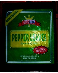 *Pinoy Fiesta Frozen Hot Pepper-Sili Leaves
