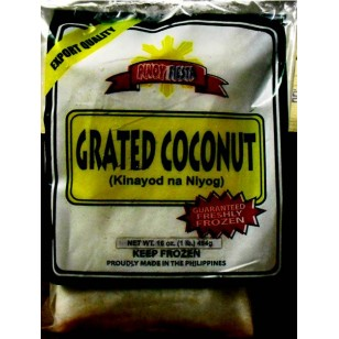 *Pinoy Fiesta Frozen Grated Coconut (Niog)