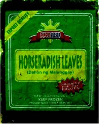 *Pinoy Fiesta  Frozen Horseradish Leaves