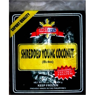 *Pinoy Fiesta Frozen Shredded Young Coconut