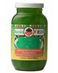 Barrio Fiesta Pandan Gel in Syrup
