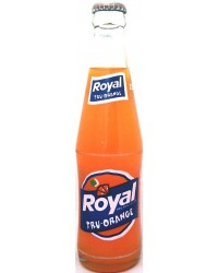 Royal Tru-Orange in bottle