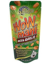 Wow Mani (Peanuts w/ Garlic Chips) pack