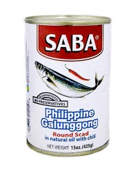 Saba Galunggong in Natural Oil Big