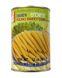 Chaokoh Baby Corn Whole 20up