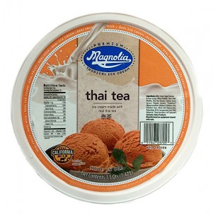 *Magnolia Ice Cream Thai Tea