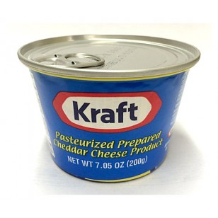 Kraft Cheese in can