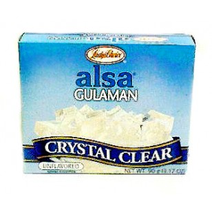 Alsa Unflavored Clear Gulaman