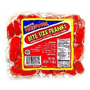 *M Purefoods Bite size Hot Dog Frank w/cheese  (119A)