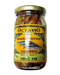 Octavio Spanish Sardines in Corn Oil Hot & Spicy