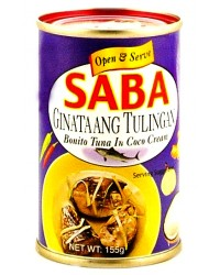 Saba Guinataang Tulingan in Coco Cream Small