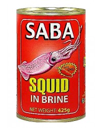 Saba Squid Big in Brine Chili