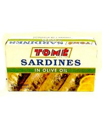 Tome Sardines in Olive Oil (white)