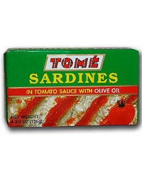 Tome Sardines In Tomato Sauce with Olive Oil
