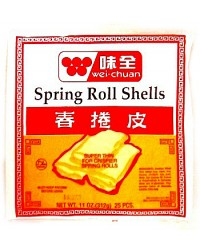 *Wei Chuan Spring Roll Wrapper