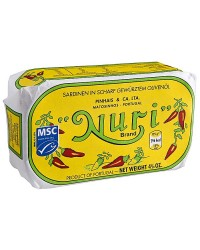 Nuri Spiced Sardines in Olive Oil