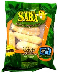 *Frozen Goldn Saba Bananas (Whole)