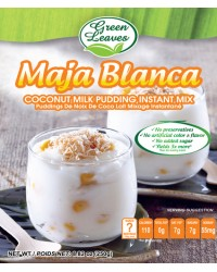 Green Leaves Pre-Mix Delicacies-Maja Blanca (Coconut Milk Pudding)