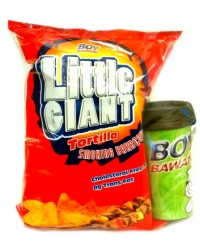 Boy Bawang Little Giant Tortilla Chips - Smoke BBQ