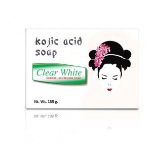 **Clear White Kojic Acid Soap (single)
