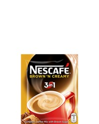 Nescafe 3 in 1 Brown & Creamy