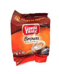 Great Taste Trio Brown Coffee