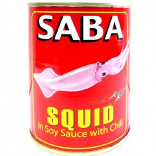 Saba Squid sm in Soy Sauce w/ Chili