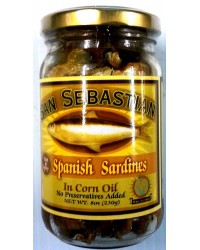 San Sebastian Sp Sard. in Corn Oil (Hot & Spicy)