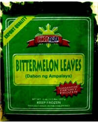*Pinoy Fiesta Frozen Bittermelon Leaves