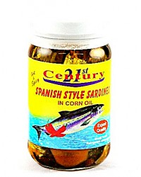 21st Century Spanish Style Sardines Hot & Spicy (8oz)