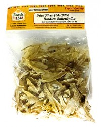 *Barrio Fiesta Dried Silverfish (Dilis) Boneless, Headless, Butterfly Cut