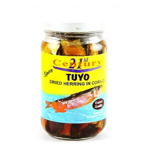 21st Century Spicy Tuyo in Corn Oil