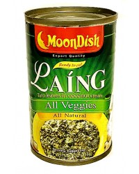 Moondish Taro Leaves in Coco Cream Vegetarian Style (Reg)