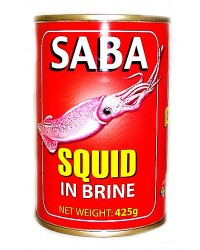 Saba Squid Big in Brine