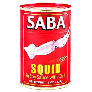 Saba Squid big in Soy Sauce Chili