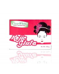 **Clear White Kojic Gluta Soap (single)