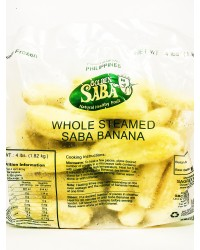 *Frozen Golden Saba Whole Banana W-4 (Institutional Pack)