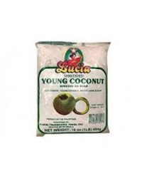 *Lucia Frozen Shredded Young Coconut